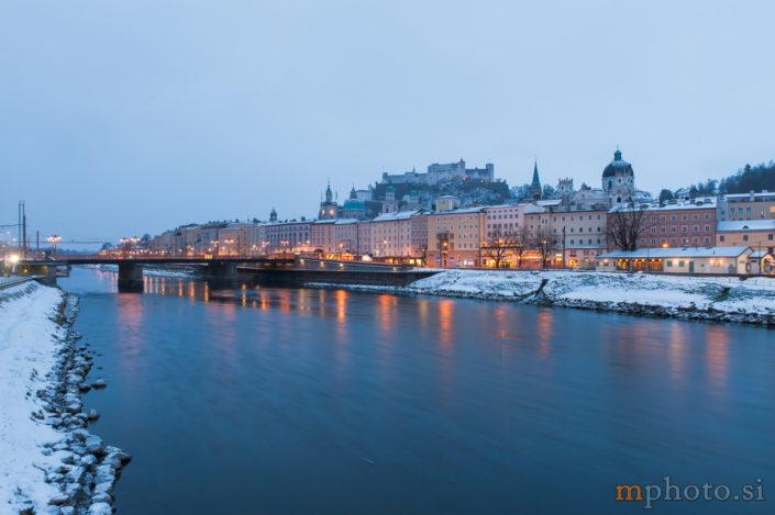 Zimsko jutro v Salzburgu