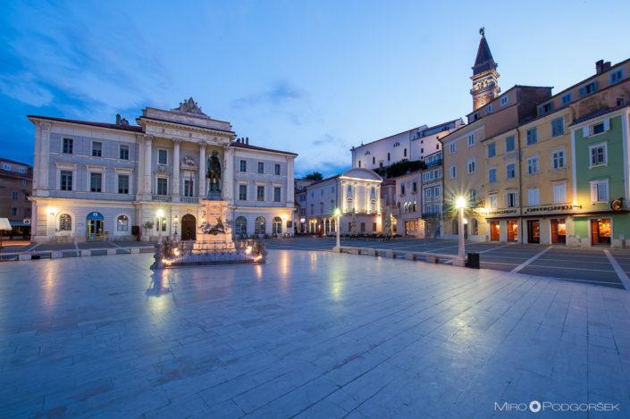 Tartini Square, Piran