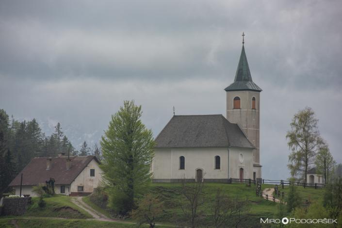 Podolševa, Cerkev Svetega Duha