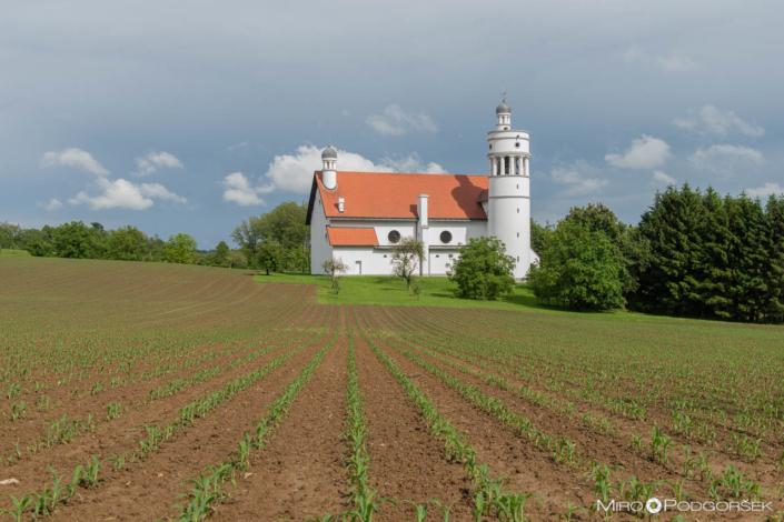 Bogojina, Plečnikova cerkev